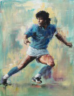 Maradona, by Sebastian Domenech