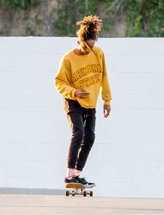 "celebritiesofcolor: "" Jaden Smith out in Calabasas """