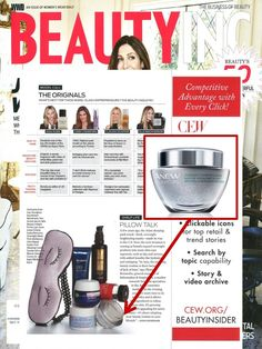 @wwd featured our ANEW Clinical Overnight Hydration Mask in their latest issue! #ANEWyou #AvonProductsintheNews