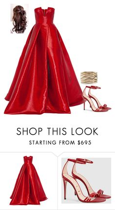 """""""Untitled #3892"""" by injie-anis ❤ liked on Polyvore featuring Alex Perry, Gucci and Vhernier"""