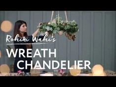 Your Christmas Your Rules : Chandelier Wreath DIY | The Beat That My Heart Skipped