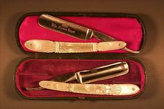 Straight razor shaving for ladies. An interesting blog post about it. Sounds like something worth looking into. :)