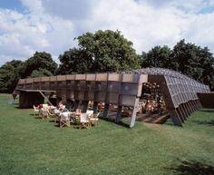 Serpentine Gallery Pavilion 2005  by Alvaro Siza and Eduardo Souto de Moura with Cecil Balmond - Arup