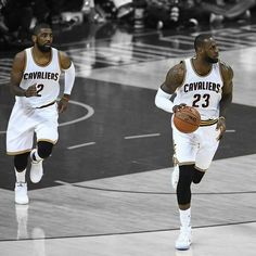 save off bbd40 54aa5 Kyrie Irving and Lebron James
