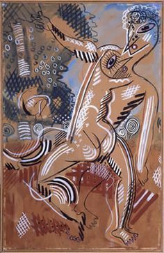 Francis Picabia, Venus and Adonis on ArtStack #francis-picabia #art