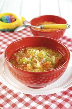 Zupa z kaszą i soczewicą