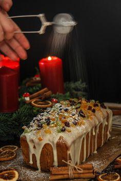 Fruit Pound Cake with Orange glaze – Cau de sucre Buckwheat Cake, Modern Cakes, Pan Dulce, How To Make Cookies, Base Foods, Savoury Cake, Original Recipe, Clean Eating Snacks, Biscuits
