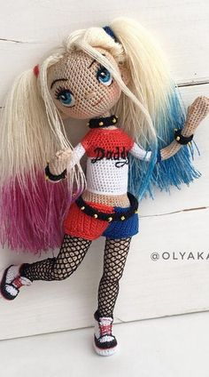 Crochet dolls 560698222359261862 - The Most Beautiful Amigurumi Doll Free Crochet Patterns – Amigurumi Source by choumivanille Crochet Amigurumi Free Patterns, Crochet Doll Pattern, Crochet Toys, Crochet Baby, Free Crochet, Crochet Beanie, Crochet Ideas, Doll Tutorial, Photo Tutorial