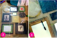 how to easily hang photo galleries using wax paper Hanging Photos, Wax Paper, Where The Heart Is, Photo Galleries, Gallery, Frame, Diy, Home Decor, Paper Envelopes