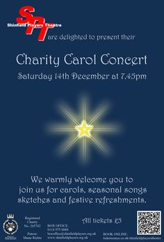 Our Education Development Consultant, is directing a charity carol concert for her local theatre. Education And Development, Charity, Theatre, Seasons, Songs, Concert, Life, Theatres, Seasons Of The Year