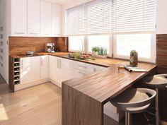 Modern Home Decor Kitchen New Kitchen Interior, Home Decor Kitchen, Kitchen Furniture, Home Kitchens, Best Kitchen Designs, Modern Kitchen Design, White Wood Kitchens, Scandinavian Kitchen, Minimalist Kitchen