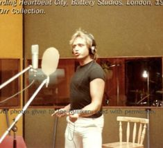 """Battery Studios in London. From the Ben Orr collection. Courtesy of Joe Milliken author of """"Lets Go"""" The Cars Band, Future Boy, Him Band, In A Heartbeat, Beautiful Boys, Picture Video, Letting Go, Going Out, First Love"""