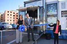 <p>Chihuahua, Chih.- El Gobierno Municipal, en coordinación con Nacional Financiera, inauguró el pasado lunes la Unidad Móvil de NAFINSA,