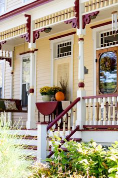 The biggest issue homeowners run into when thinking about a porch addition is linked to daylight. Porch Appeal, House Exterior, Porch Paint, Fall Outdoor Decor, Fall Outdoor, Vintage Porch, Victorian Porch, Traditional Porch, Exterior