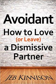 Jeb Kinnison's previous book on finding a good partner by understanding attachment types (Bad Boyfriends: Using Attachment Theory to Avoid Mr. (or Ms.) Wrong and Make You a Better Partner) brought lots of readers to JebKinnison.com, where the most asked-about topic was how to deal with avoidant lovers and spouses.