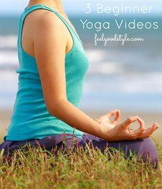 3 Yoga for Beginners Videos: Getting My Om Back!
