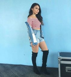Kathryn Bernardo Outfits, Filipina Actress, Jadine, Baby Animals, Dancer, Teen, Ootd, Hollywood, Actresses