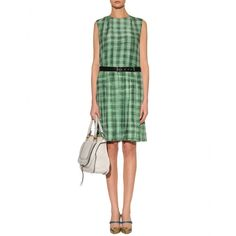 BELTED SILK DRESS by Marc Jacobs