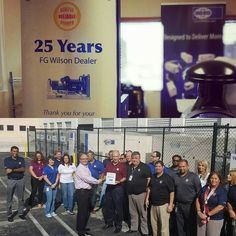 @srpamericas over 25 years  and more than 50000 #generators sold and supported #fgwilson