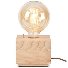 it's about RoMi - Kobe - Tafellamp - Vierkant naturel