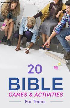 20 juegos y actividades biblicas
