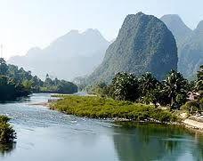 Nam Song (Song River)  Vang Vieng