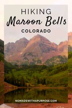 Guide To Backpacking The Maroon Bells Four Pass Loop Estes Park Colorado, Aspen Colorado, Breckenridge Colorado, Denver Colorado, Colorado Springs, Colorado Hiking, Colorado Mountains, Denver Travel, Travel Usa