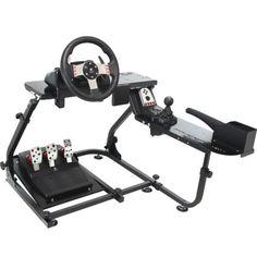 IONRAX-RS2-E-brake-Racing-Wheel-Stand-for-PS3-GT5-GT6-Logitech-G27-G25