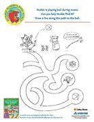Richard Scarry activity printables