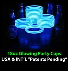 Pretty sure stuff like this is created especially for a glow-in-the-dark freak like me!!! Gosh, I love glow sticks!!