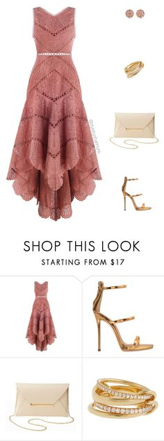 """""""Wedding Guest"""" by stylebyshannonk ❤ liked on Polyvore featuring Zimmermann, Giuseppe Zanotti, Charlotte Russe, SPINELLI KILCOLLIN and Carolee"""