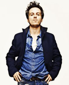 Andrew Scott for Esquire. Moriarty? More like Mori-hottie. Amirite?