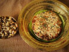 Karamani Sundal Uttapam Recipe