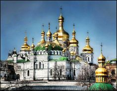 Kiev Pechersk Lavra  Monastery  Kiev, Ukraine #travel #kiev #kyiv