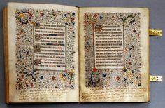 The most famous book of hours was given to Mary, Queen of Scots by her uncle, the Duc de Guise, when she was still betrothed to the Dauphin, the future Frances II. It was created and beautifully illuminated in France in the second quarter of the 15th century. On blank pages and of the margins there are many notes,written by Mary herself. It is said that she took this very book to the scaffold with her.