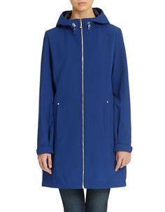 Brands   Trenchcoats & Rainwear   Hooded Softshell Walker Coat   Lord and Taylor