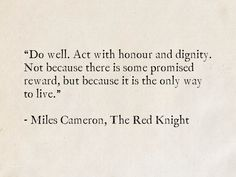 Miles Cameron, The Red Knight (The Traitor Son Cycle)