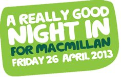 A Really Good Night In - Macmillan Cancer Support