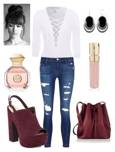 """""""Untitled #147"""" by sara-elizabeth-leonard on Polyvore featuring NLY Trend, J Brand, Jessica Simpson, Sophie Hulme, Le Vieux, Smith & Cult and Tory Burch"""