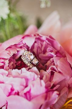 Ring shot, country wedding via @capelio