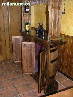 M s de 1000 ideas sobre barriles en pinterest barriles for Barril mueble bar