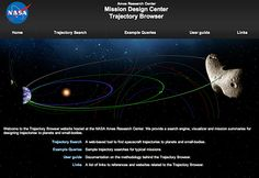 Trajectory Browser. Inaugurato oggi il sito della Nasa per pianificare i viaggi interplanetari. Scopriamo come funziona...