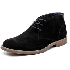 newest 13318 dc81f Hush Puppies Terminal Black Suede ( 85) ❤ liked on Polyvore featuring men s  fashion,