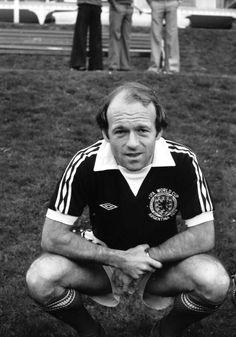 Archie Gemmill de Escocia en el Mundial de 1978.