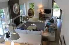 Hamptons living room of Will and Kerstin Meyer