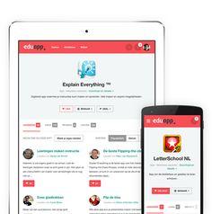 Handige app voor les ideeen.