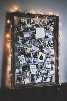 DIY Ideas With Old Picture Frames - DIY Inspiration Mood Board - Cool Crafts To Make With A Repurposed Picture Frame - Cheap Do It Yourself Gifts and Home Decor on A Budget - Fun Ideas for Decorating Your House and Room Decoration Photo, Soft Board Decoration, Decoration Pictures, Old Picture Frames, Homemade Picture Frames, Polaroid Picture Frame, Picture Frame Crafts, Friends Picture Frame, Wedding Picture Frames