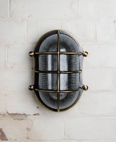 Our Big Steve bulkhead light is a supersized wall light that's IP64 rated, making it perfect for using as outdoor lighting and as bathroom lighting.