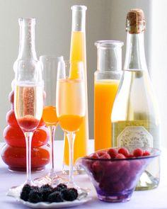 DIY Bellini Bar #new #years #champagne #dessert #recipe