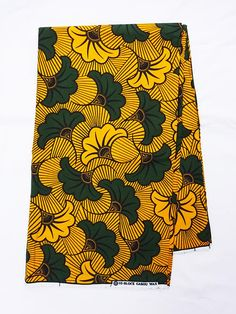 African fabric fleurs multicolored african fabric by the yards Ankara fabric African wax Print fabric african cotton Fabric flowers Ankara Fabric, African Fabric, African Prints, African Dress, Textile Patterns, Fabric Material, Fabric Flowers, African Fashion, Crafts To Make